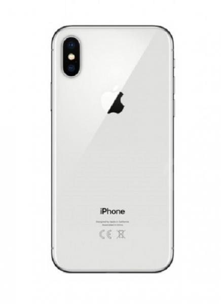 Apple iPhone X Zadní Kryt (White) Service Pack