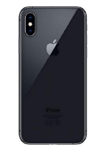 Apple iPhone XS Zadní Kryt (Black) Service Pack