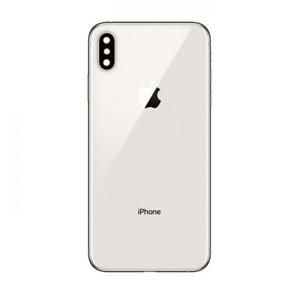 Apple iPhone XS Zadní Kryt (White) Service Pack