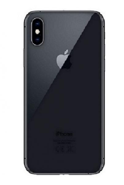 Apple iPhone XS Max Zadní Kryt (Black) Service Pack