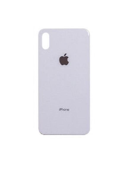 Apple iPhone X Skleněný Zadní Kryt Baterie (White)