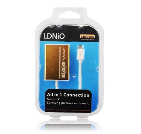 DL-5501 Čtečka paměťových karet microUSB (EU Blister)
