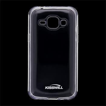 Kisswill TPU Pouzdro Transparent pro Samsung J100 Galaxy J1