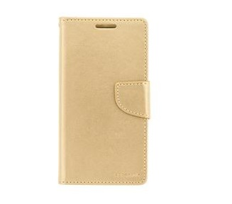 Mercury Bravo Diary Pouzdro pro Apple iPhone X/XS Gold