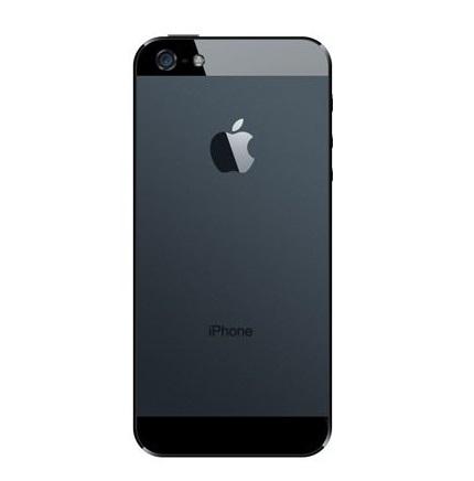 Apple iPhone 5 Zadní Kryt (Black) SWAP
