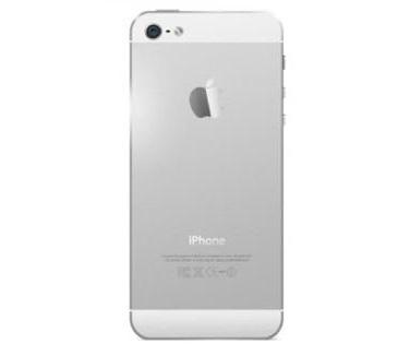 Apple iPhone 5 Zadní Kryt (Silver) SWAP