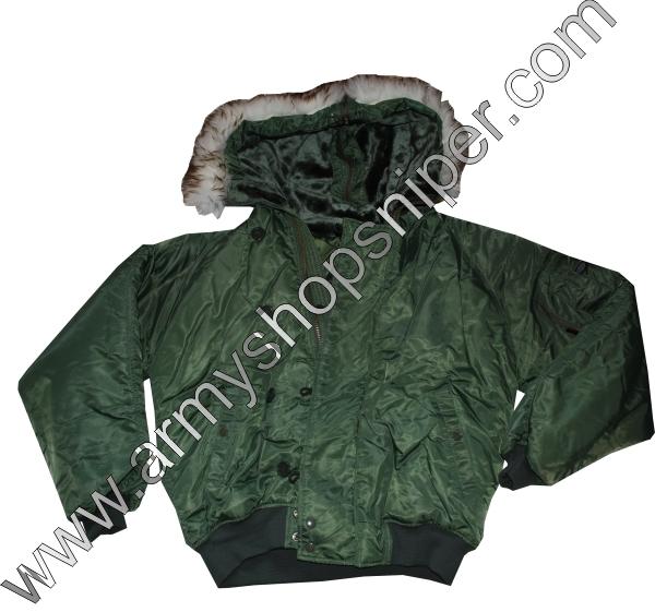 Aljaška bunda N2B oliv