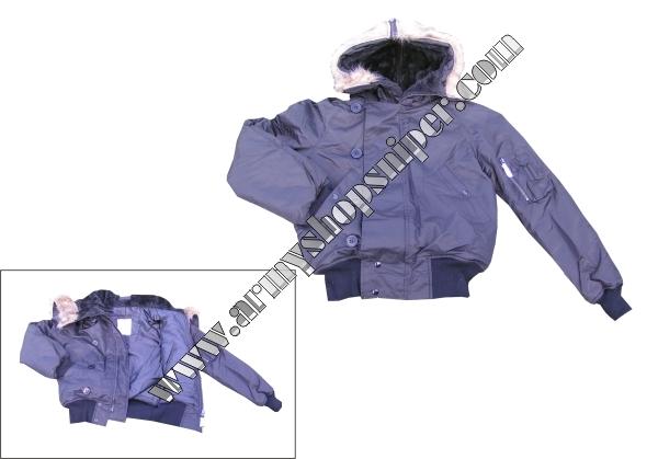 Aljaška bunda N2B black