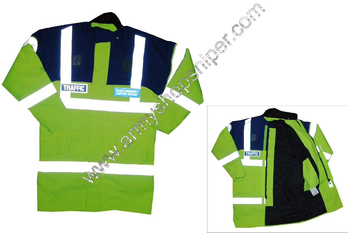Reflexní bunda POLICE