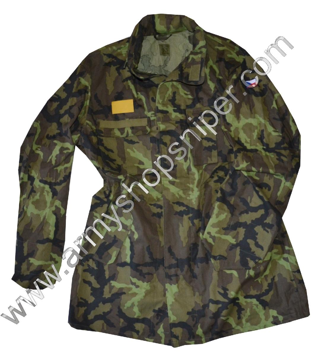 Kongo, kabát vz.95 AČR