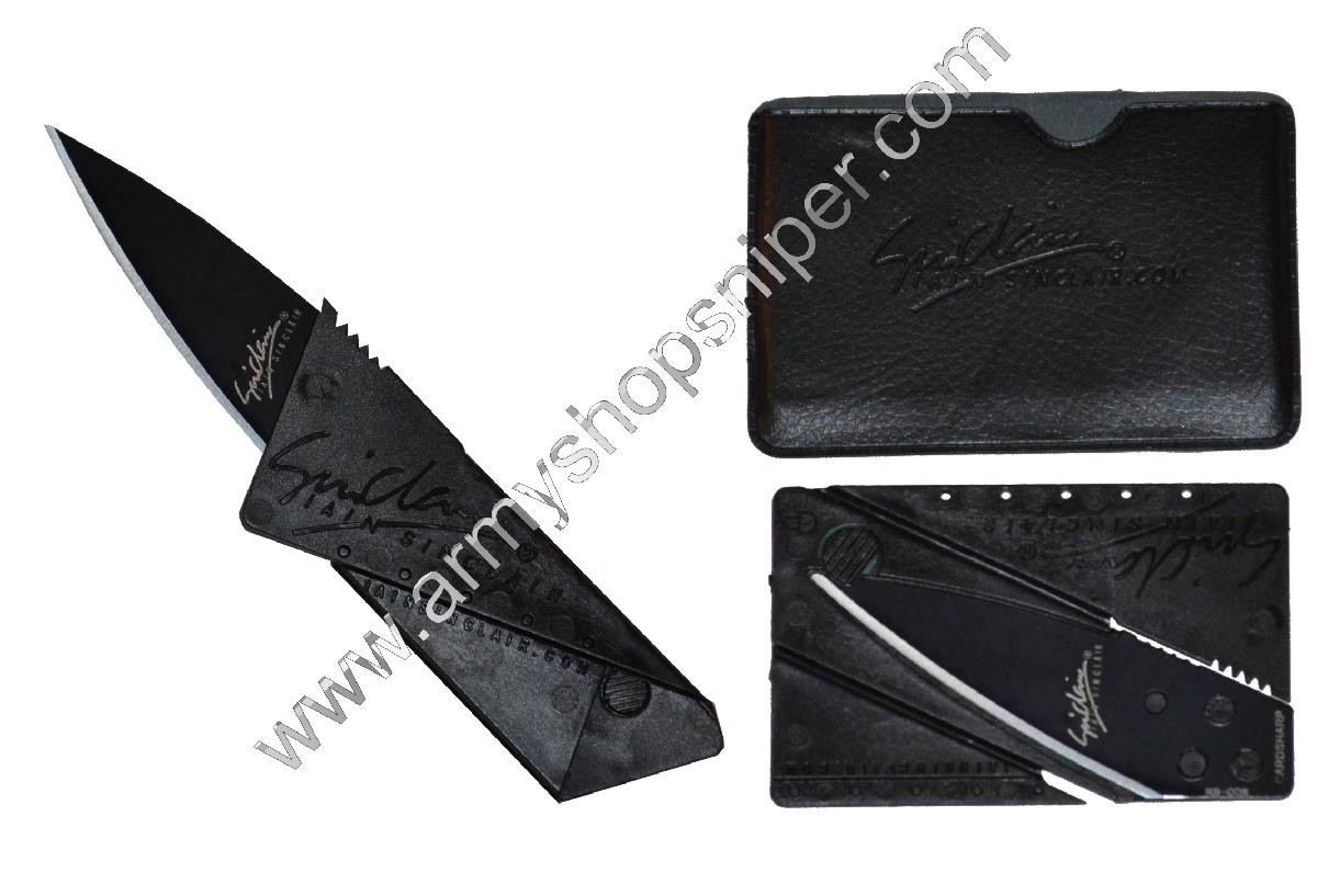 Nůž skládací - karta