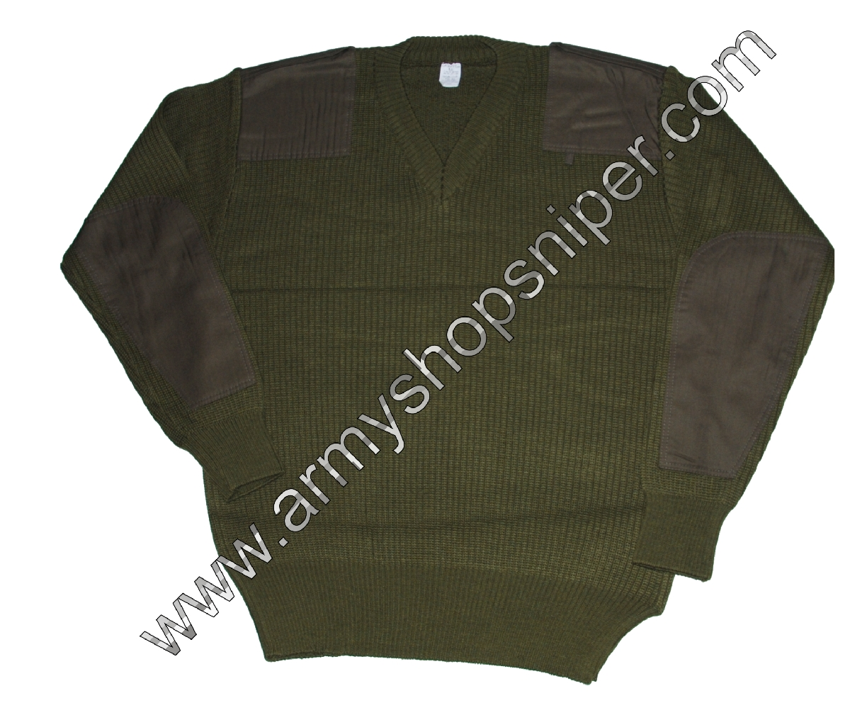 Svetr vojenský  ITAL khaki