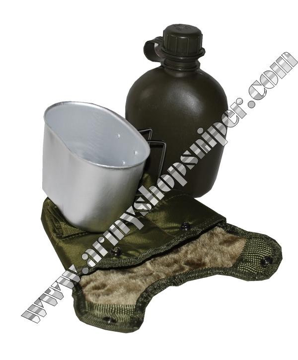 Polní láhev US oliv