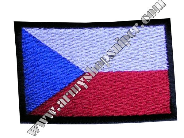 Nášivka ČS vlajka AČR