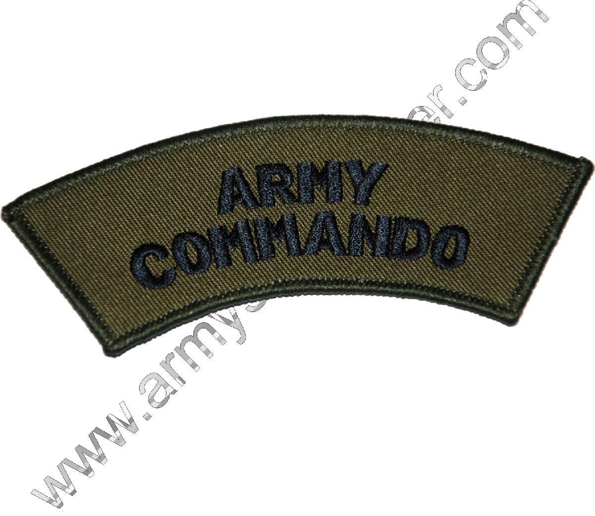 Nášivka ARMY COMANDO