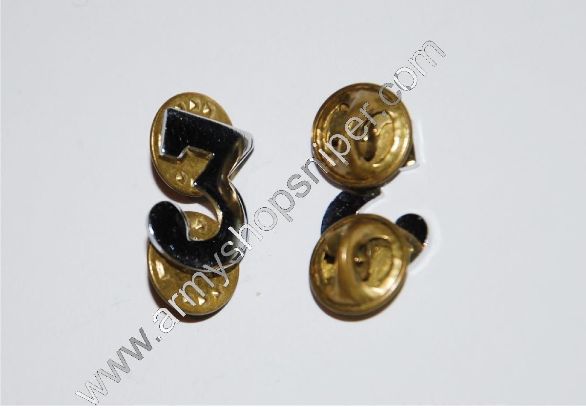 Číslice 3 kovová