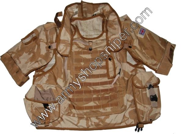 Střepinová vesta OSPREY DPM desert MK II