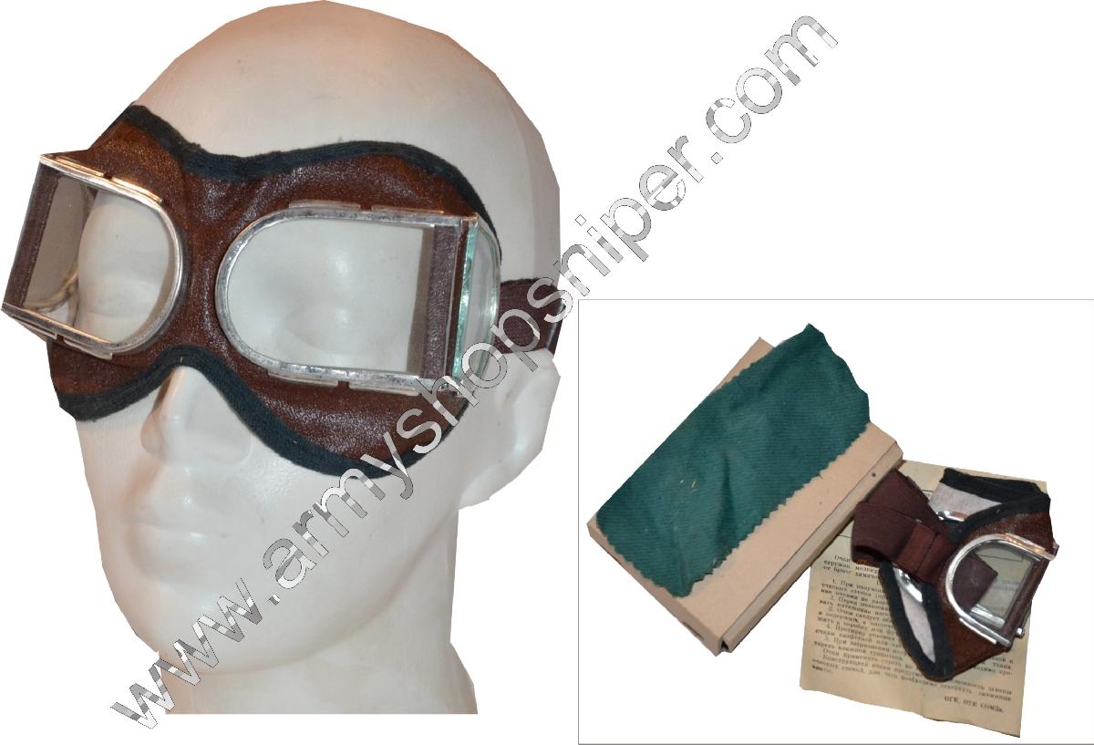Ochranné MOTO brýle Ruské