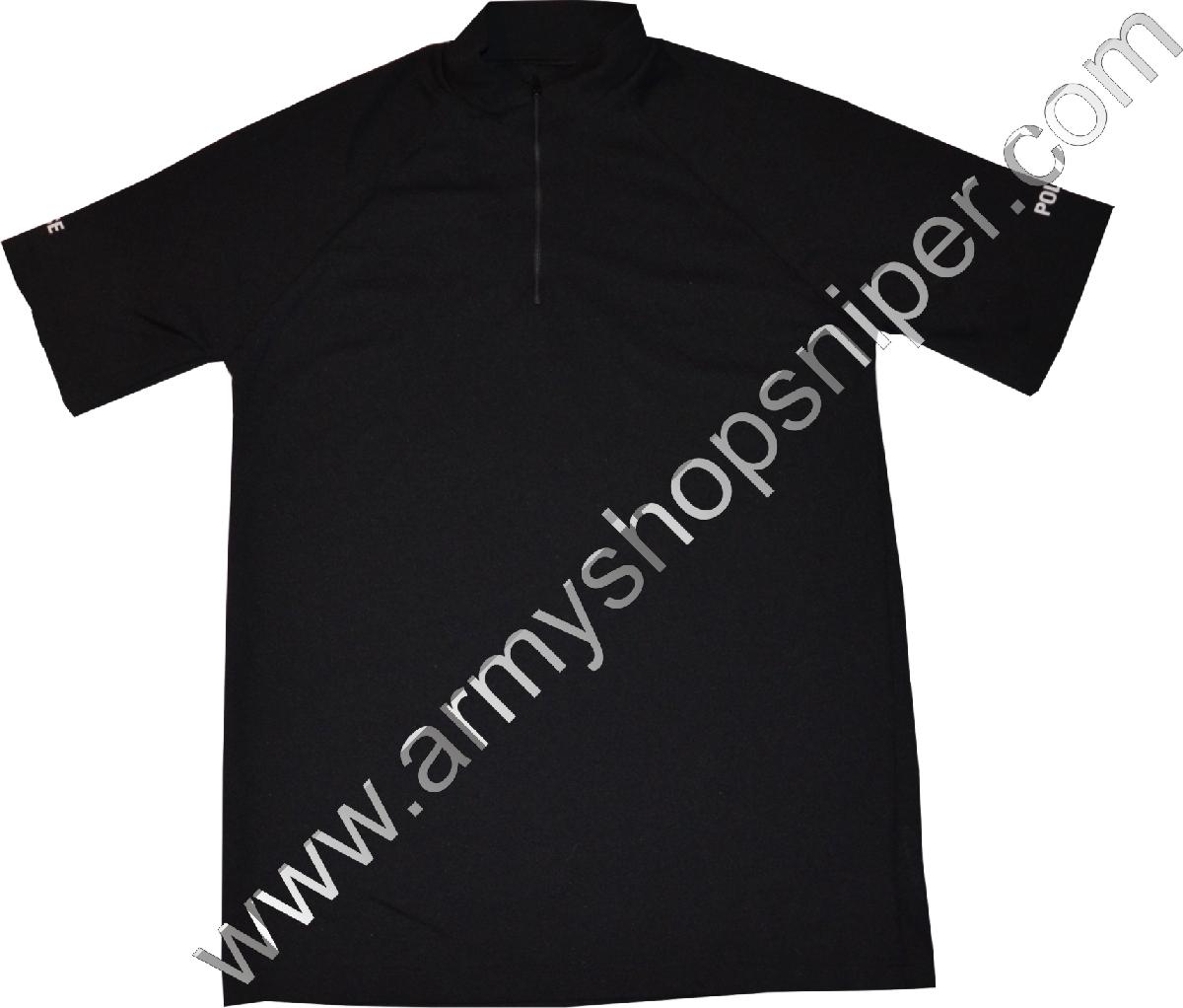 Termo triko černé britská POLICE