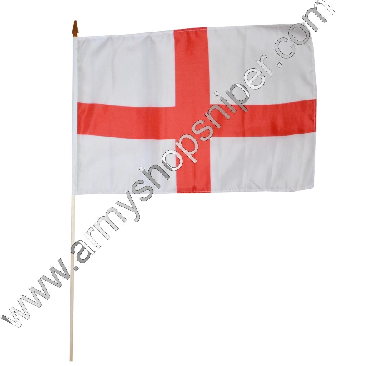 Vlajka na tyčce Anglie