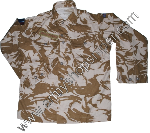 Košile Britská COMBAT Tropical desert DPM 180/104