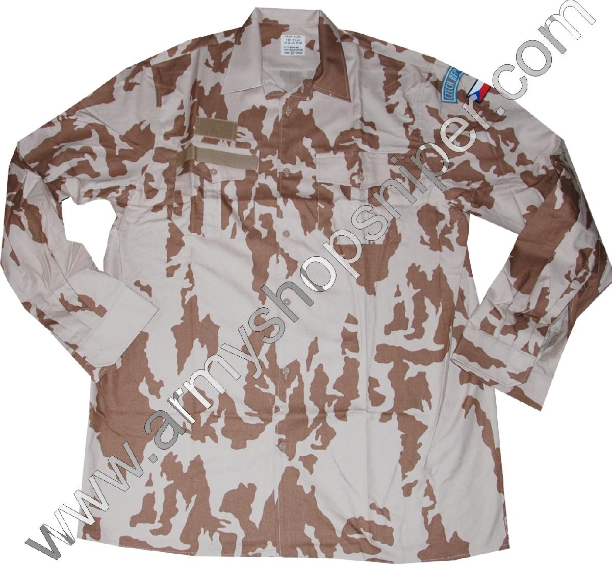 Košile AČR 2000 desert