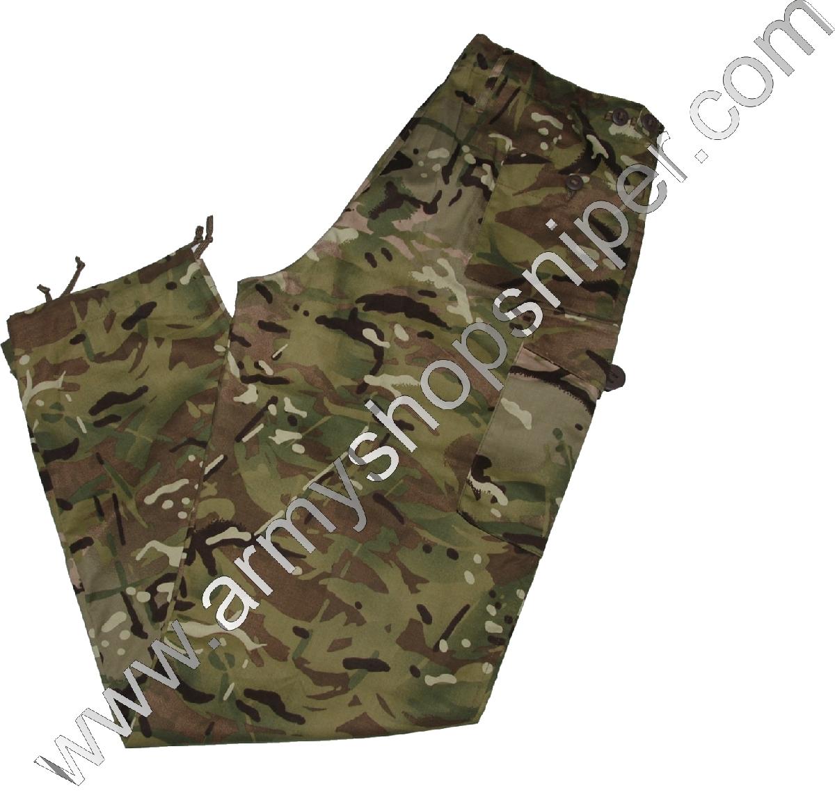 Kalhoty Brit. Multicam Tropical Combat