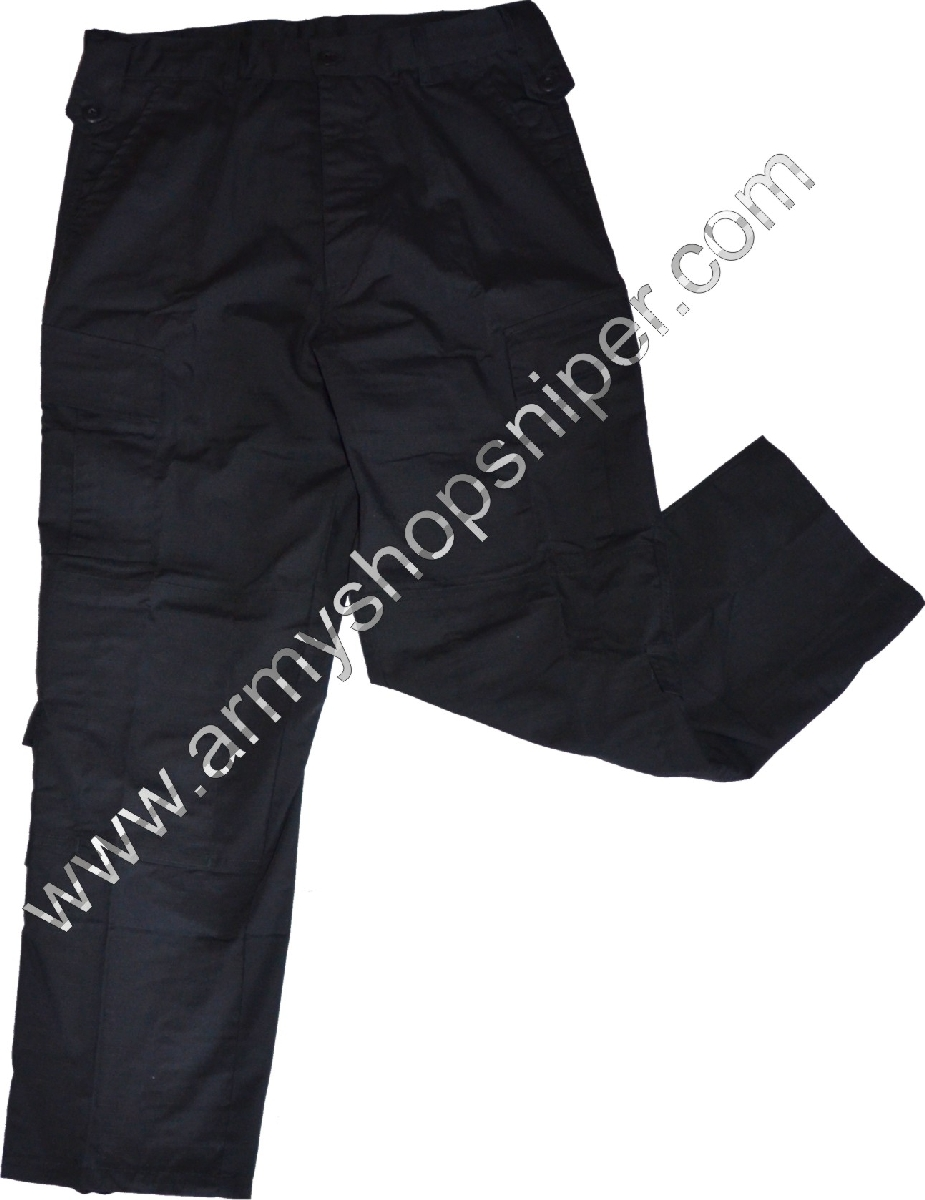 Kalhoty černé Rip Stop