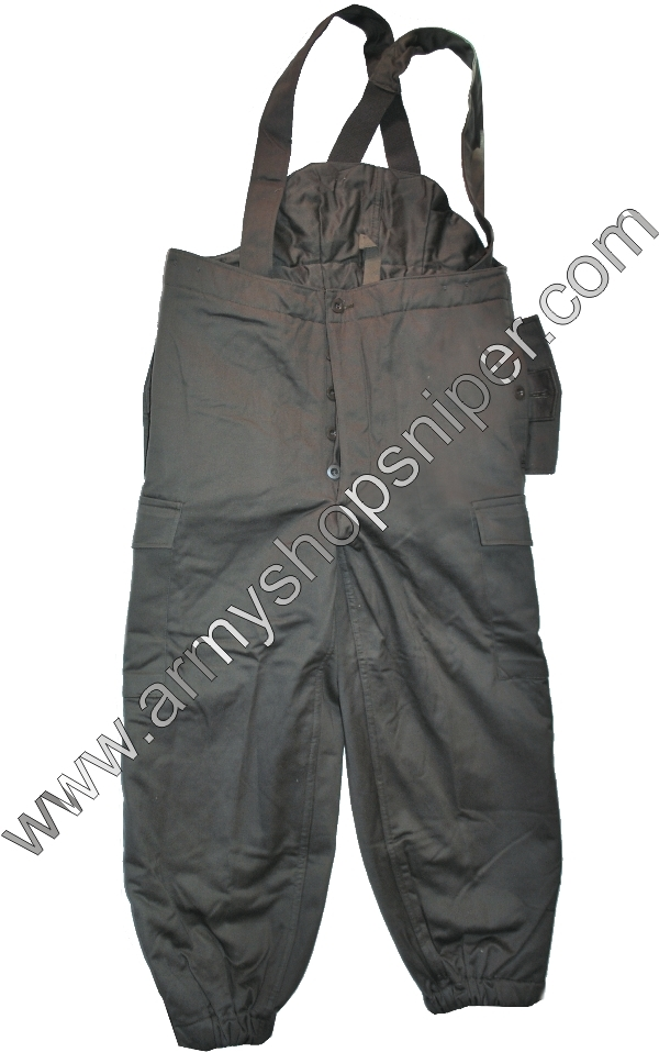 Kalhoty  Rakousko zateplené oliv 96-100/ V-VI