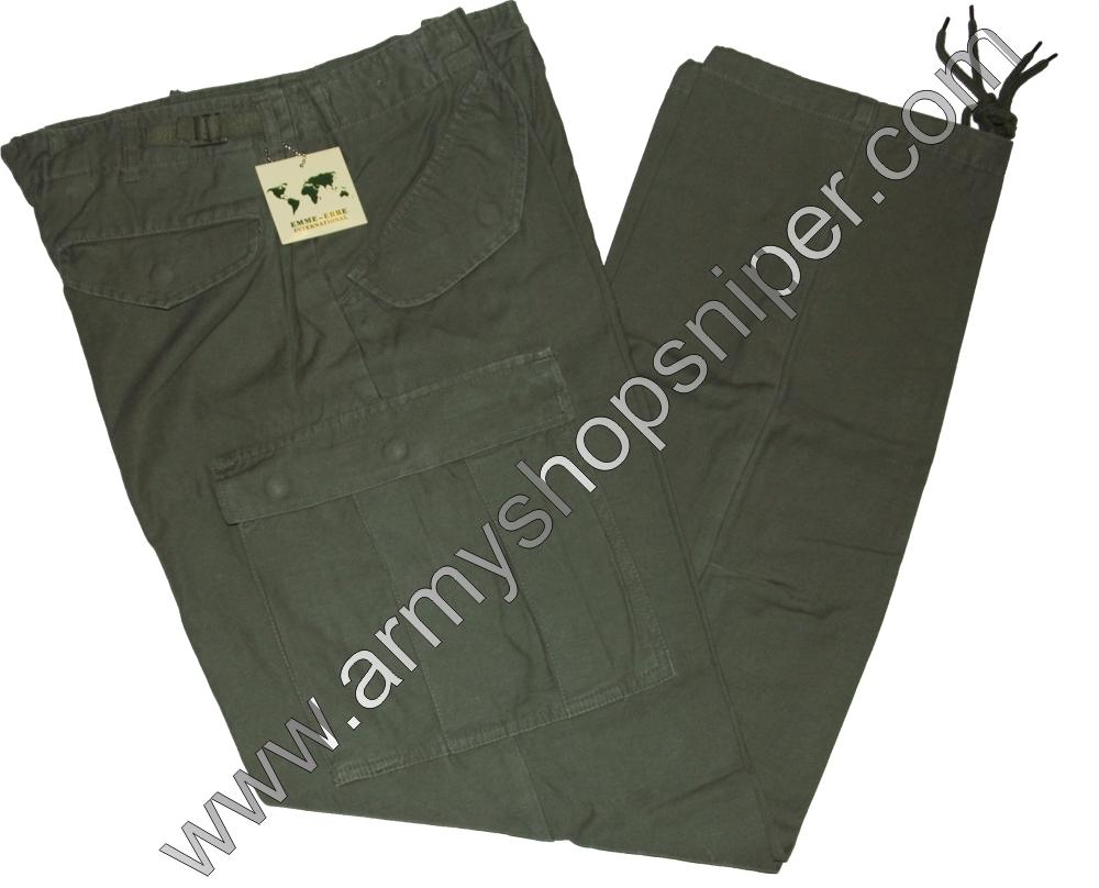 Kalhoty zelené EMME ERRE