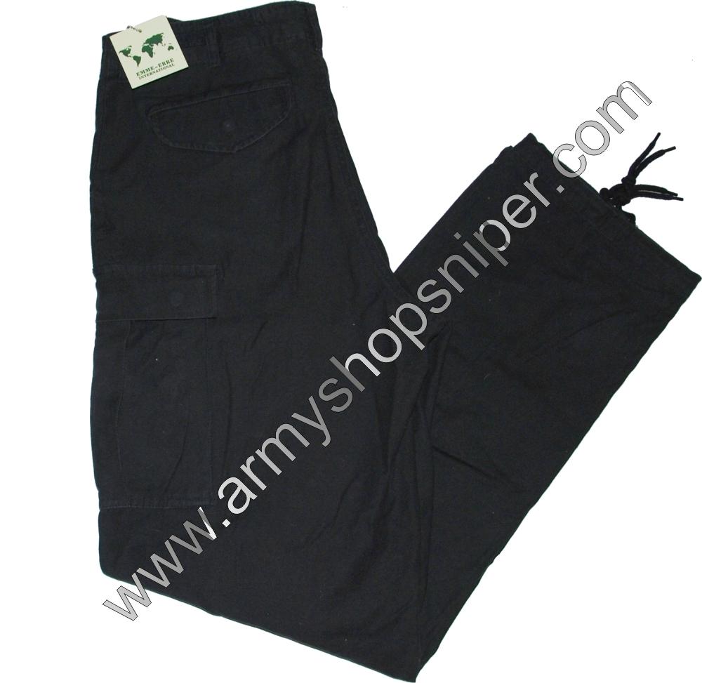 Kalhoty černé EMME ERRE