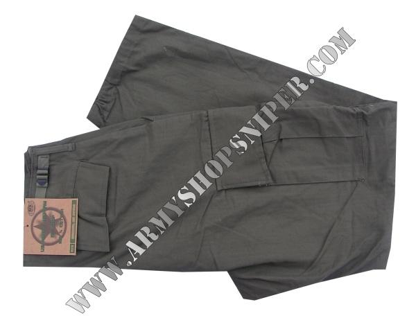 Kalhoty Vietnam oliv M