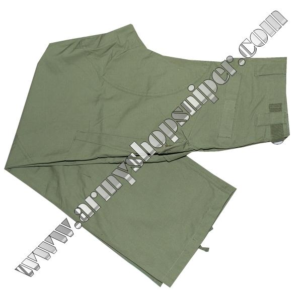 Kalhoty zelené Rip-stop