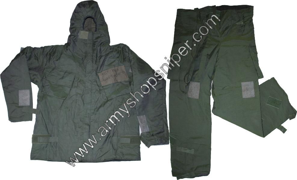 Převlečník, Ochranný oděv NBC MK IV  oliv 190/108