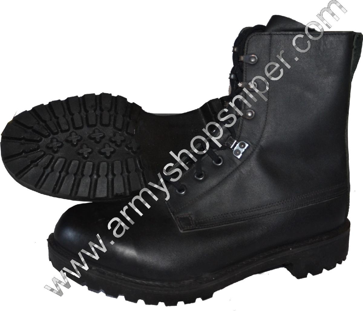 Boty kožené Britské