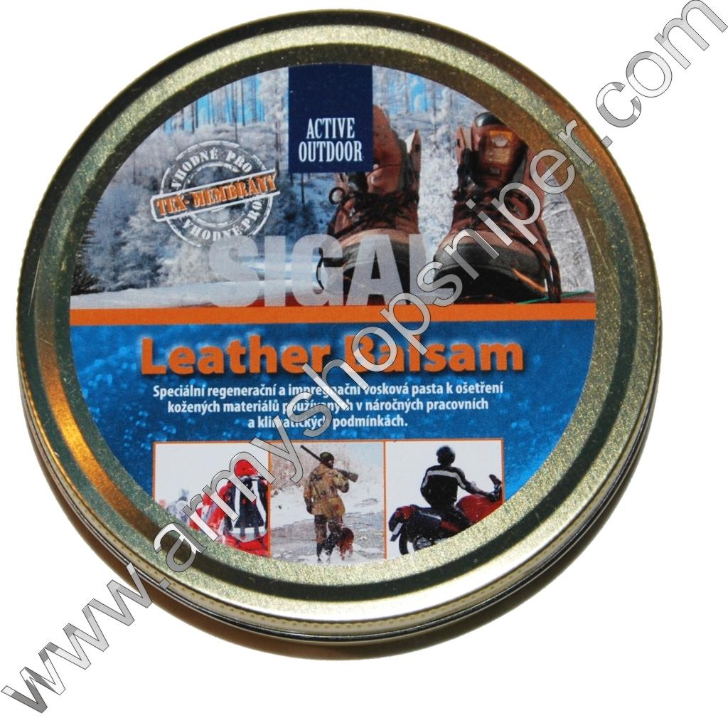 Balzám - vosková pasta Leather Balsam