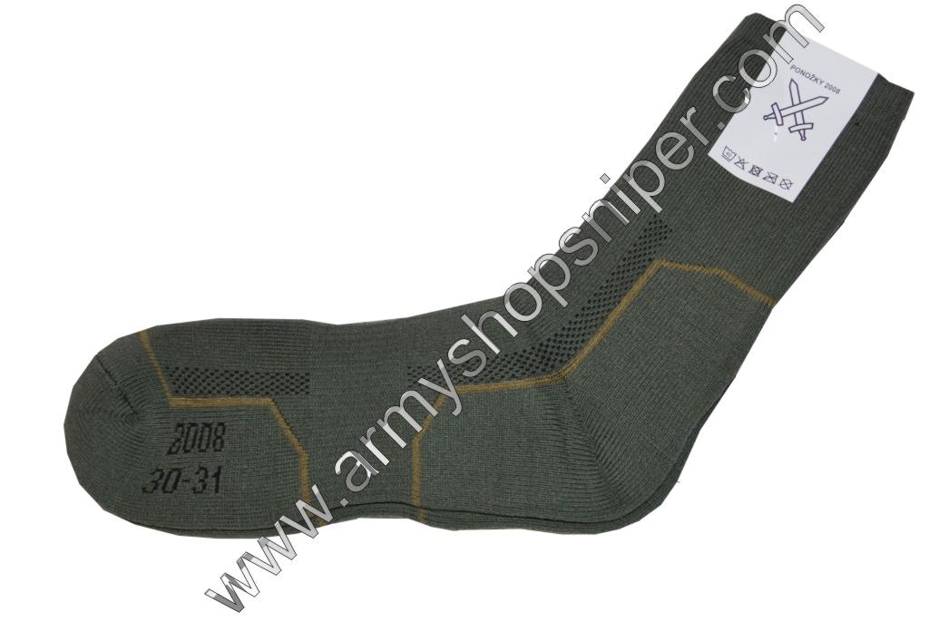 Ponožky AČR 2008 vel. 32-33 (12-13)