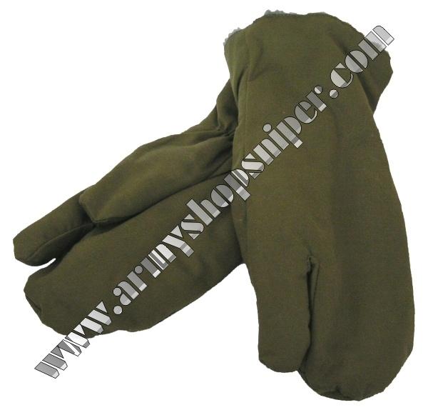Zimní rukavice vz.85 AČR střelecké oliv , palčáky