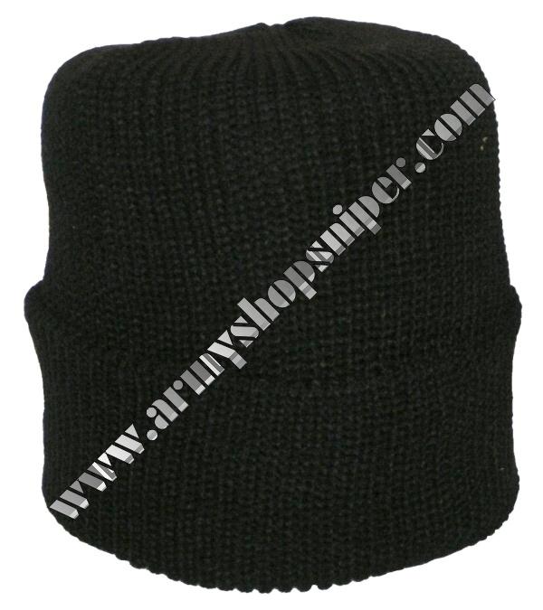 Čepice pletená černá