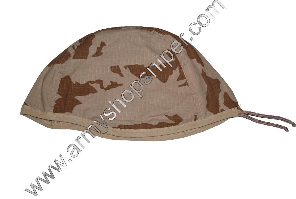 Potah na přilbu,  helmu AČR Pouštní rip-stop